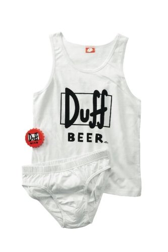 Duff Beer Underwear Set Gr.L
