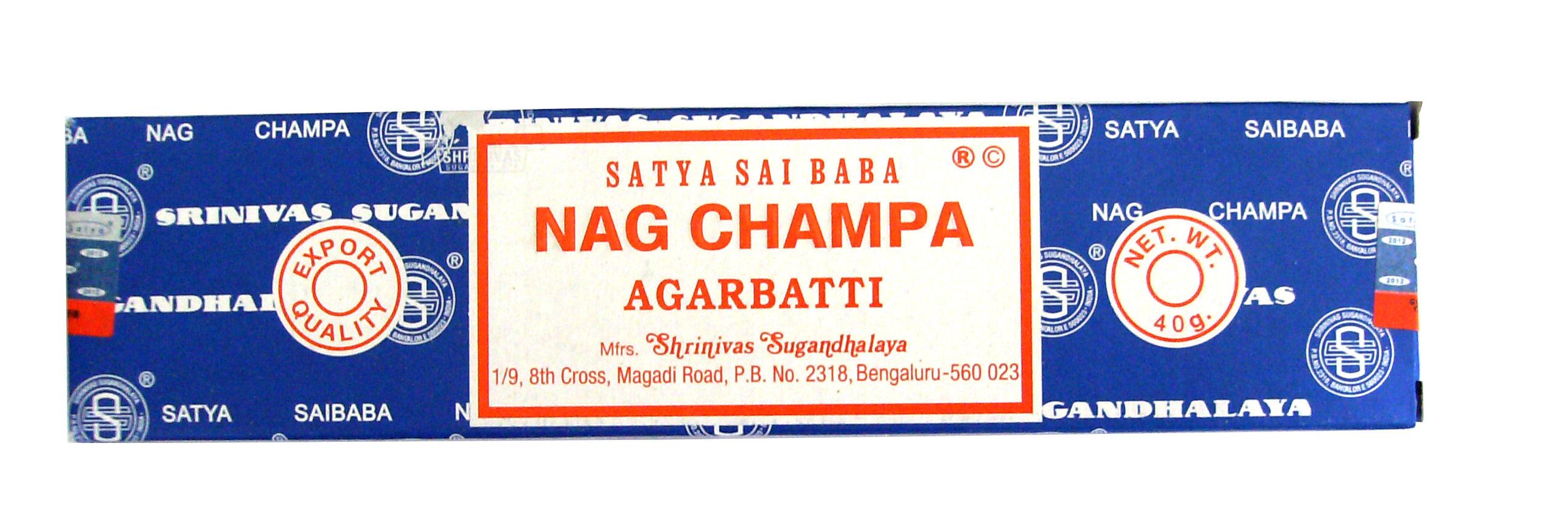 Räucherstäbchen Nag Champa 40g