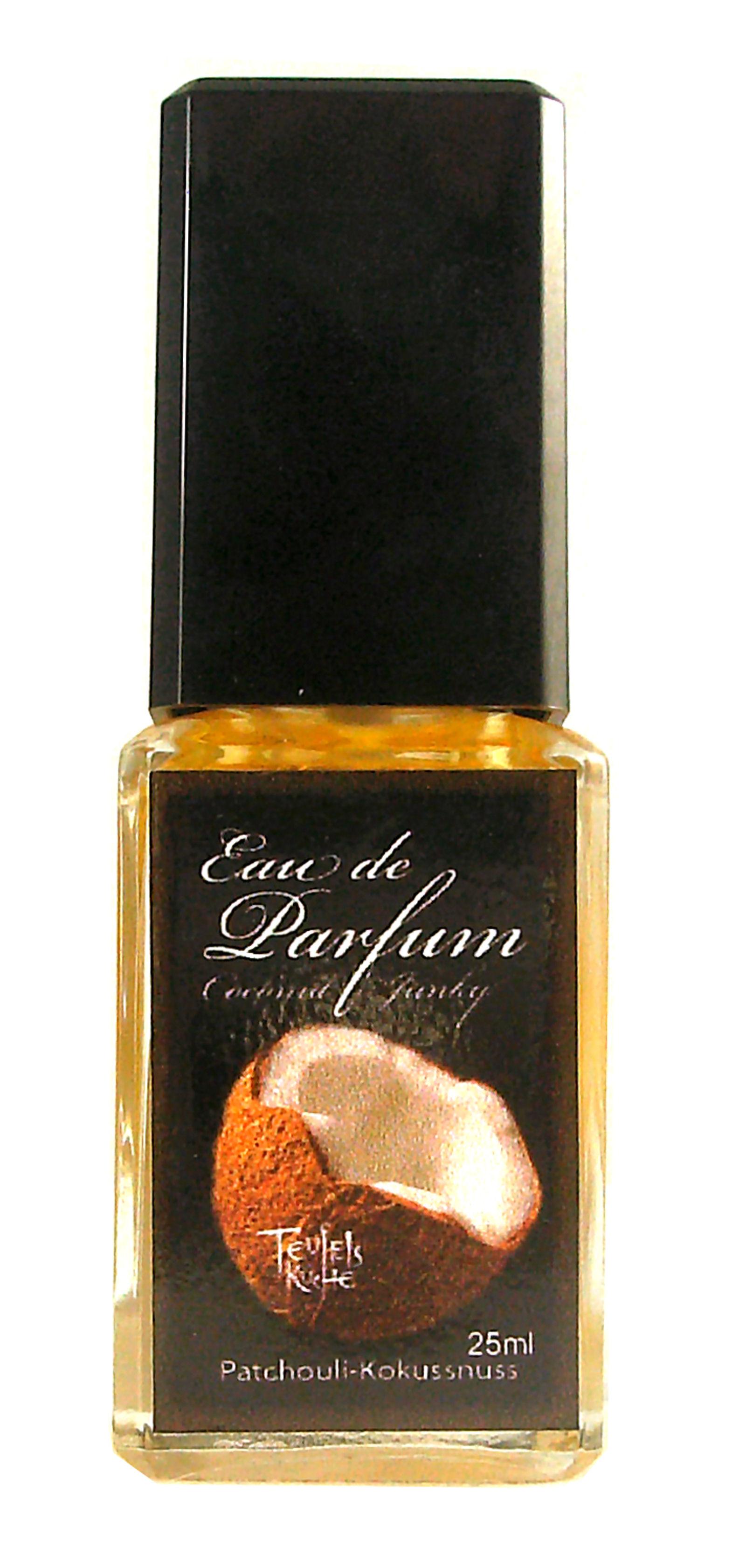 Eau De Parfum Patchouli Coconut Junky 25ml und Parfumflakon le