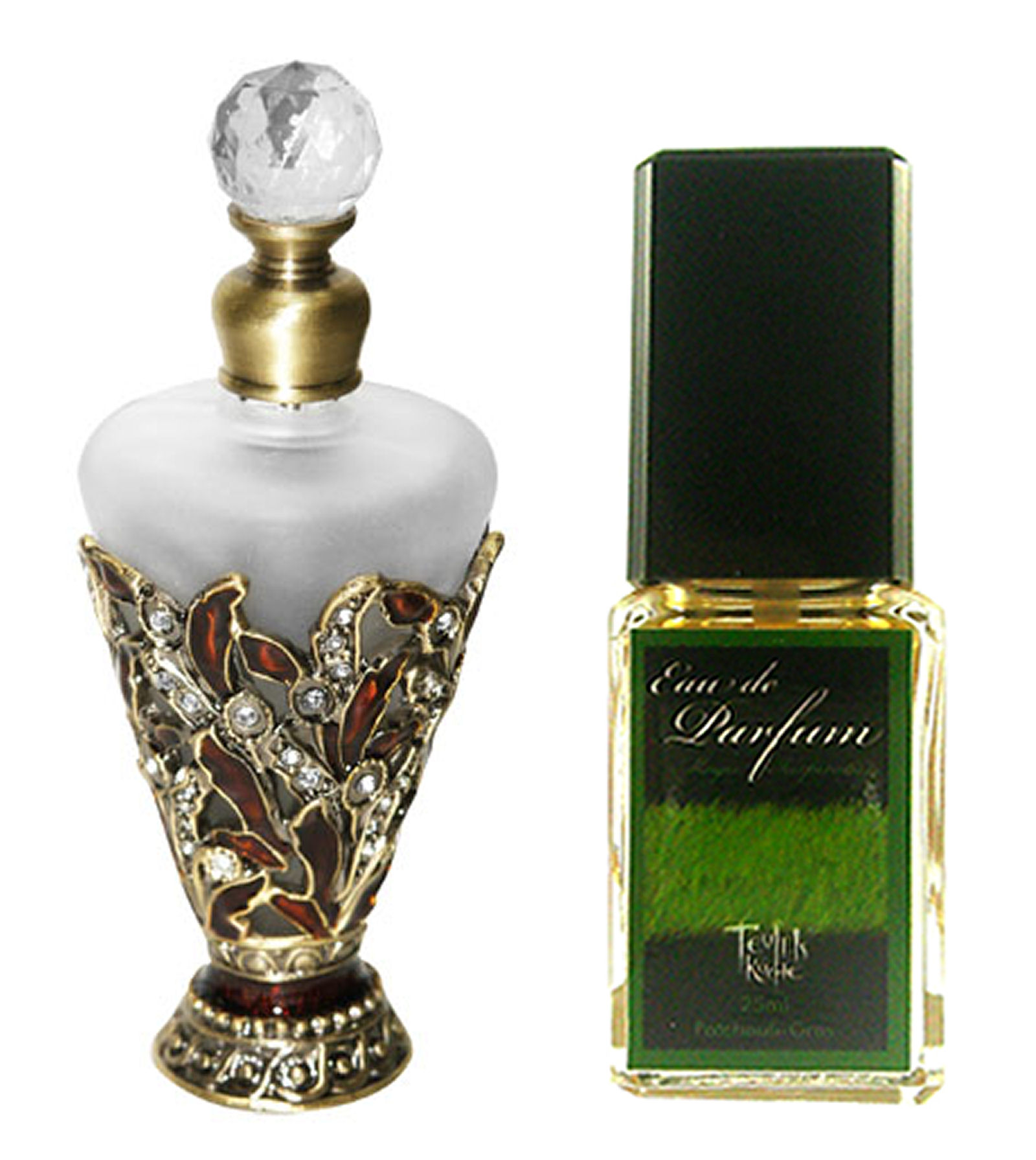 Eau De Parfum Patchouli Magic Inspiration 25ml und Parfumflako
