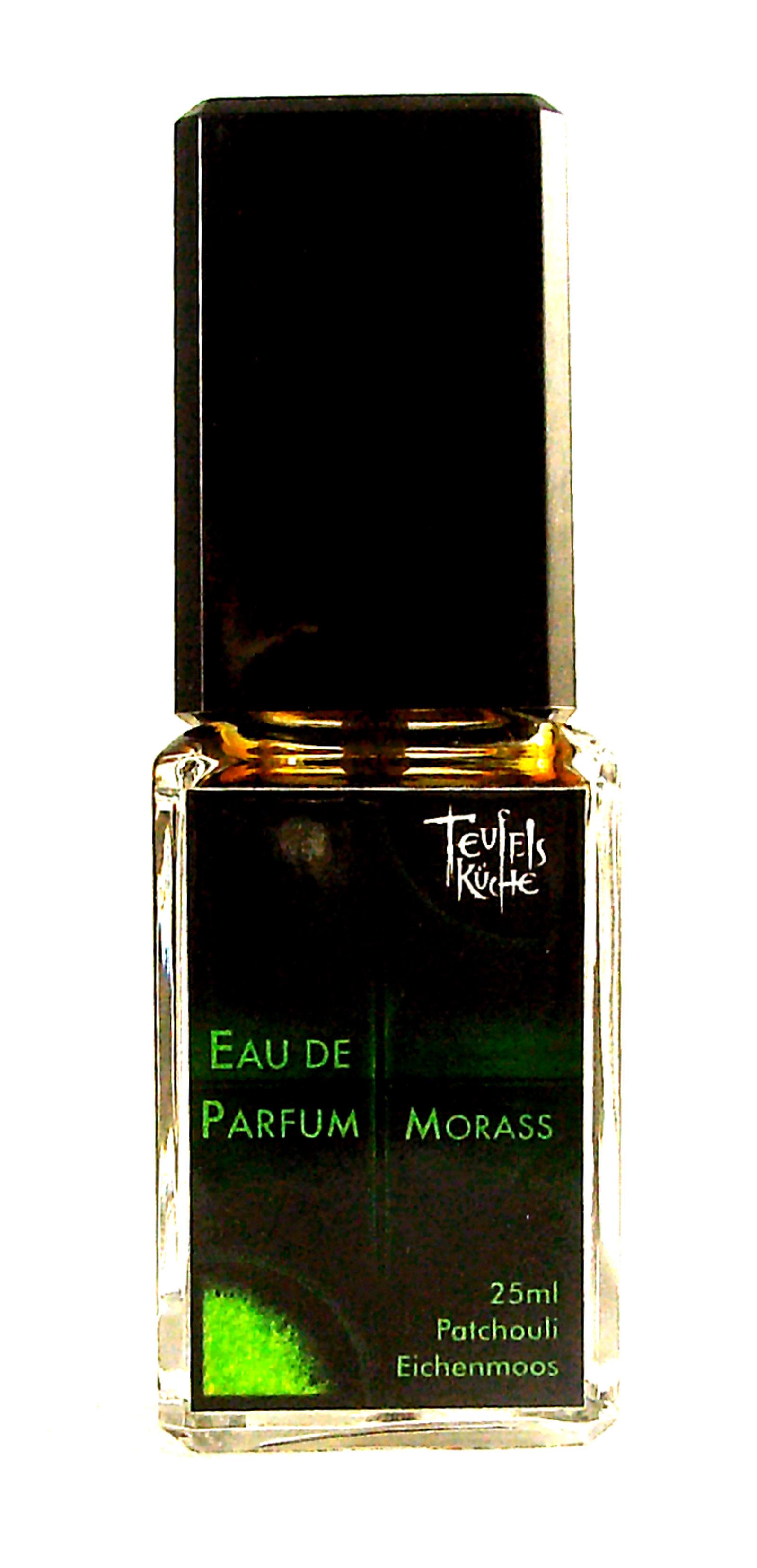 Eau De Parfum Patchouli Morass 25ml und Parfumflakon leer