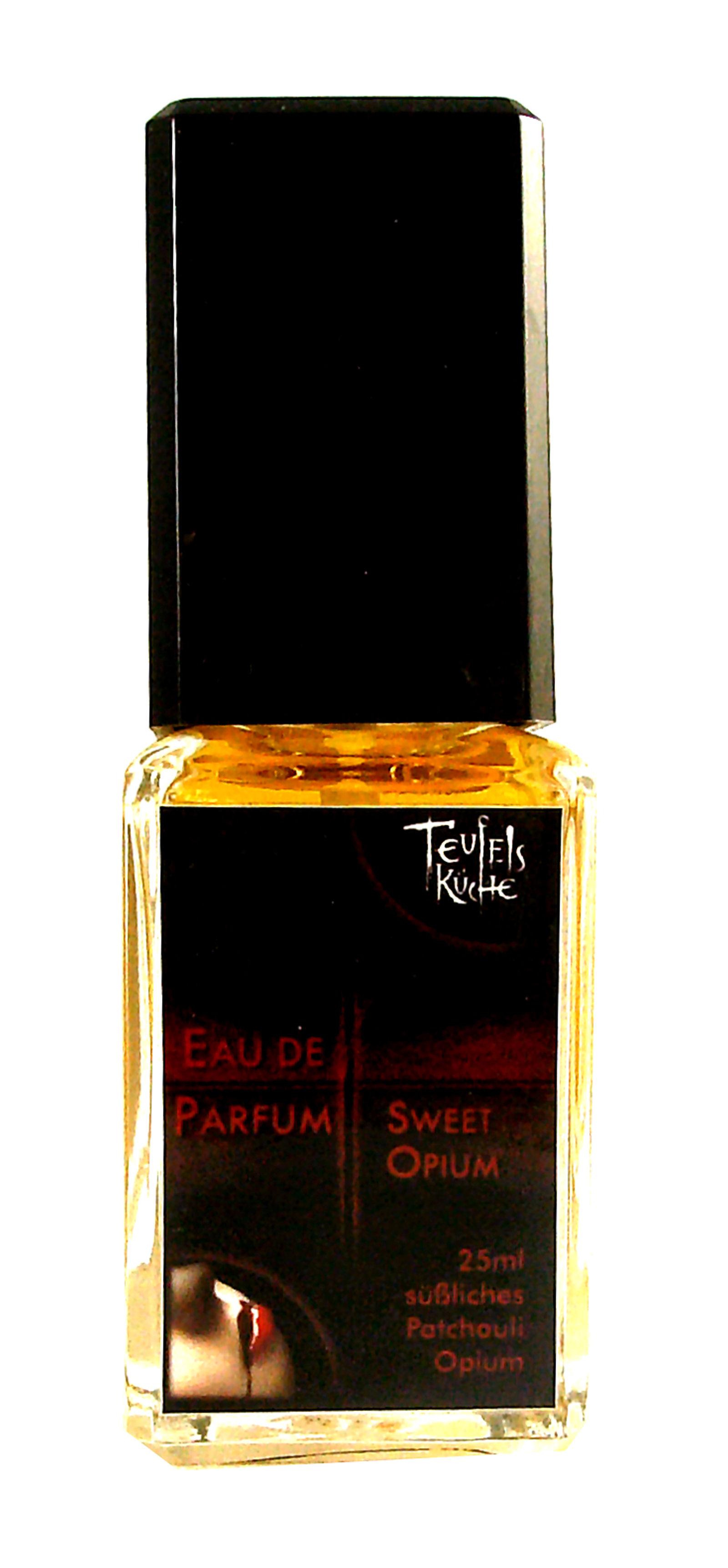 Eau De Parfum Patchouli Sweet Opium 25ml und Parfumflakon leer