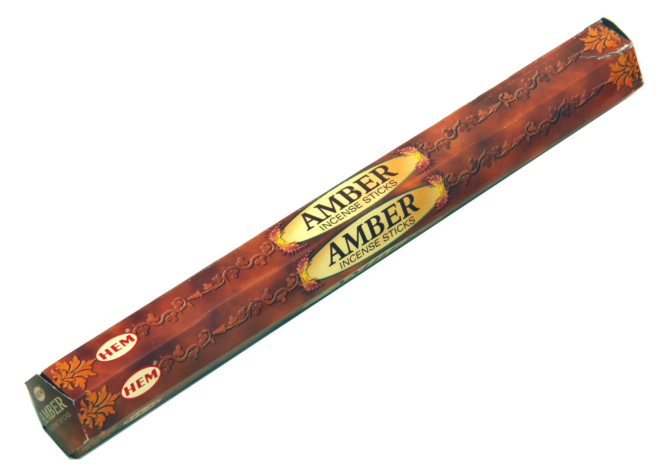 HEM Räucherstäbchen Amber 20g Hexa Packung  Ca. 20 Incence Sticks