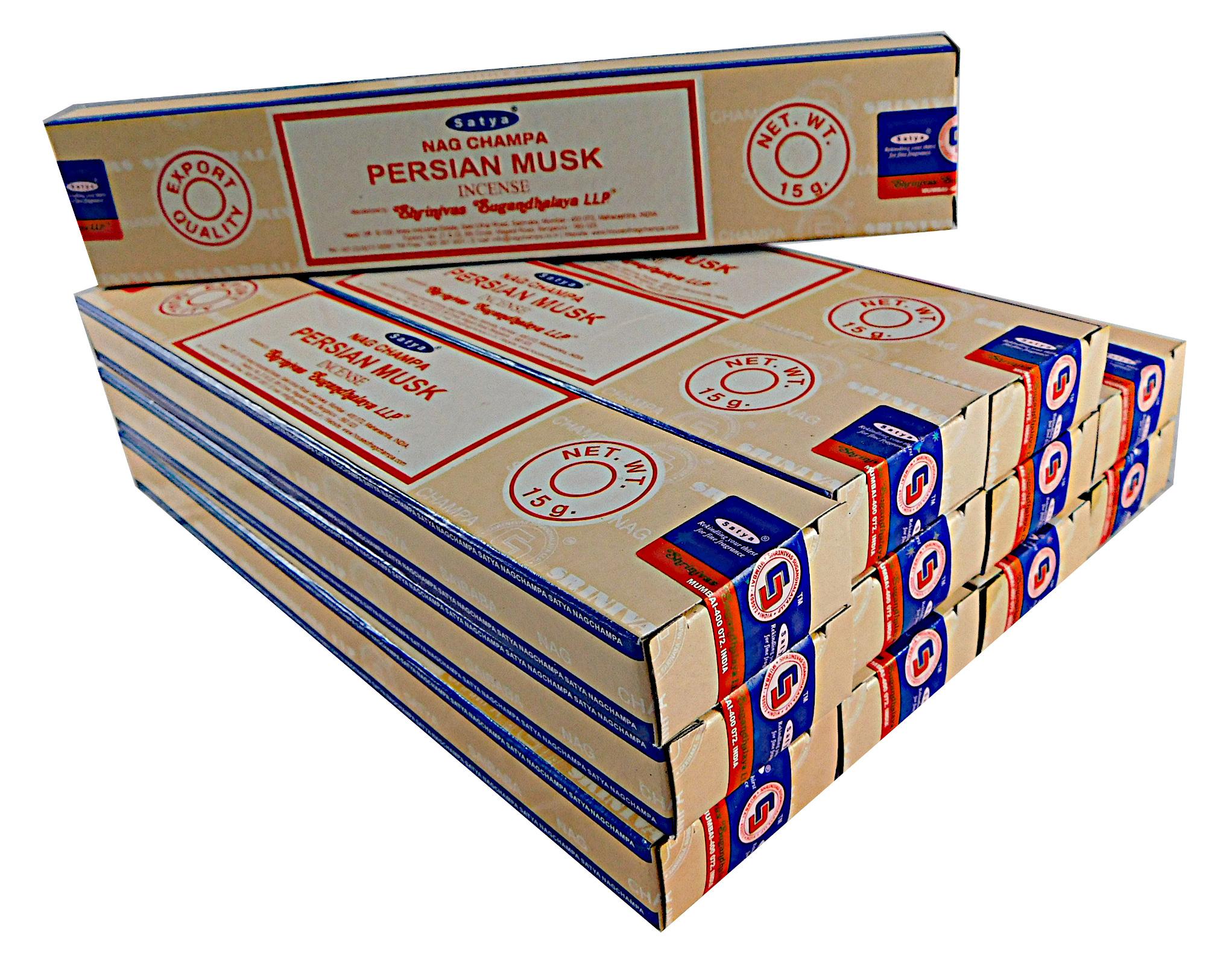 Satya Räucherstäbchen Persian Musk 12 Packs a 15g