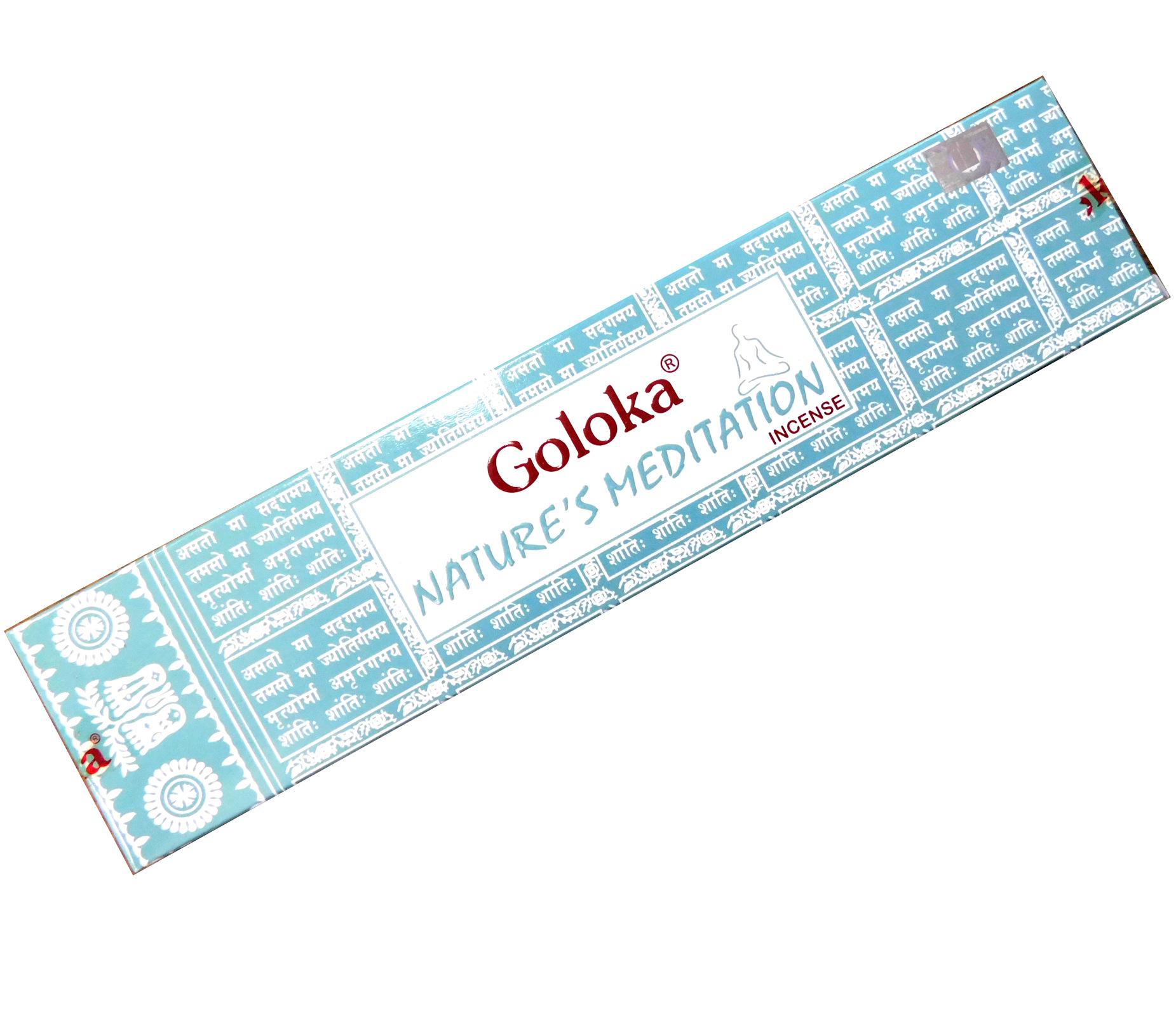 Räucherstäbchen Goloka Nature´s Meditation