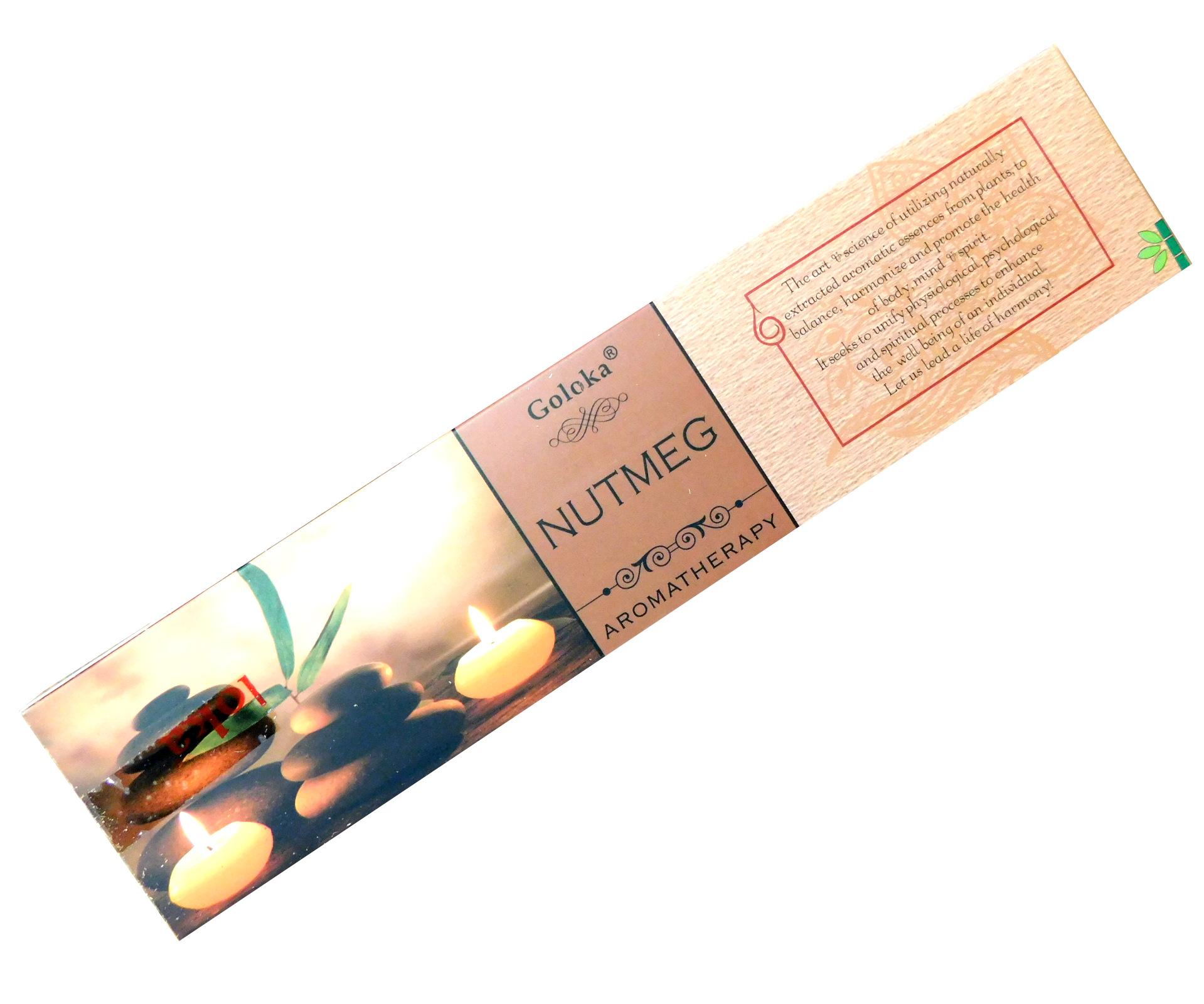 Räucherstäbchen Goloka Nutmeg