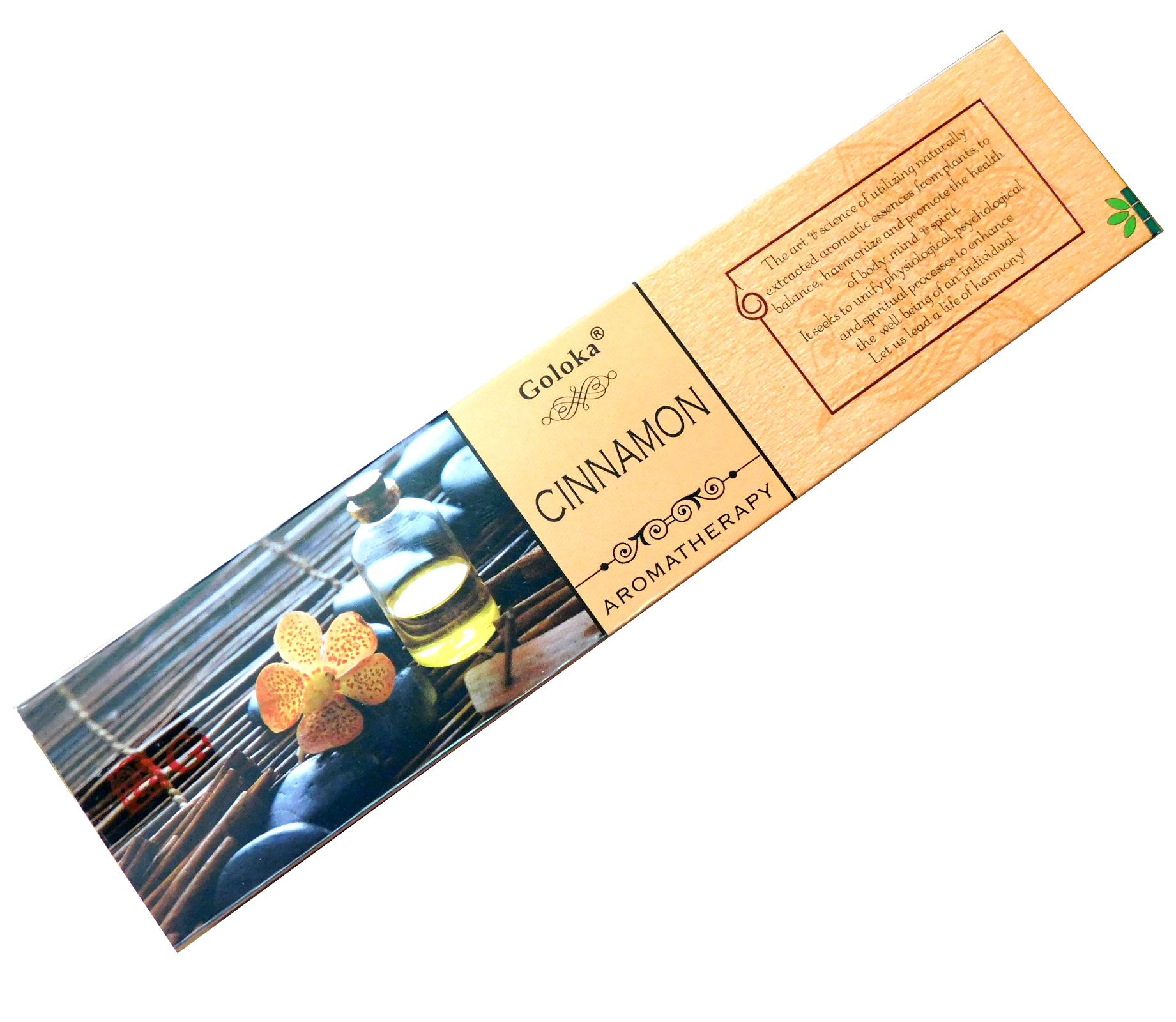 Räucherstäbchen Goloka Cinnamon