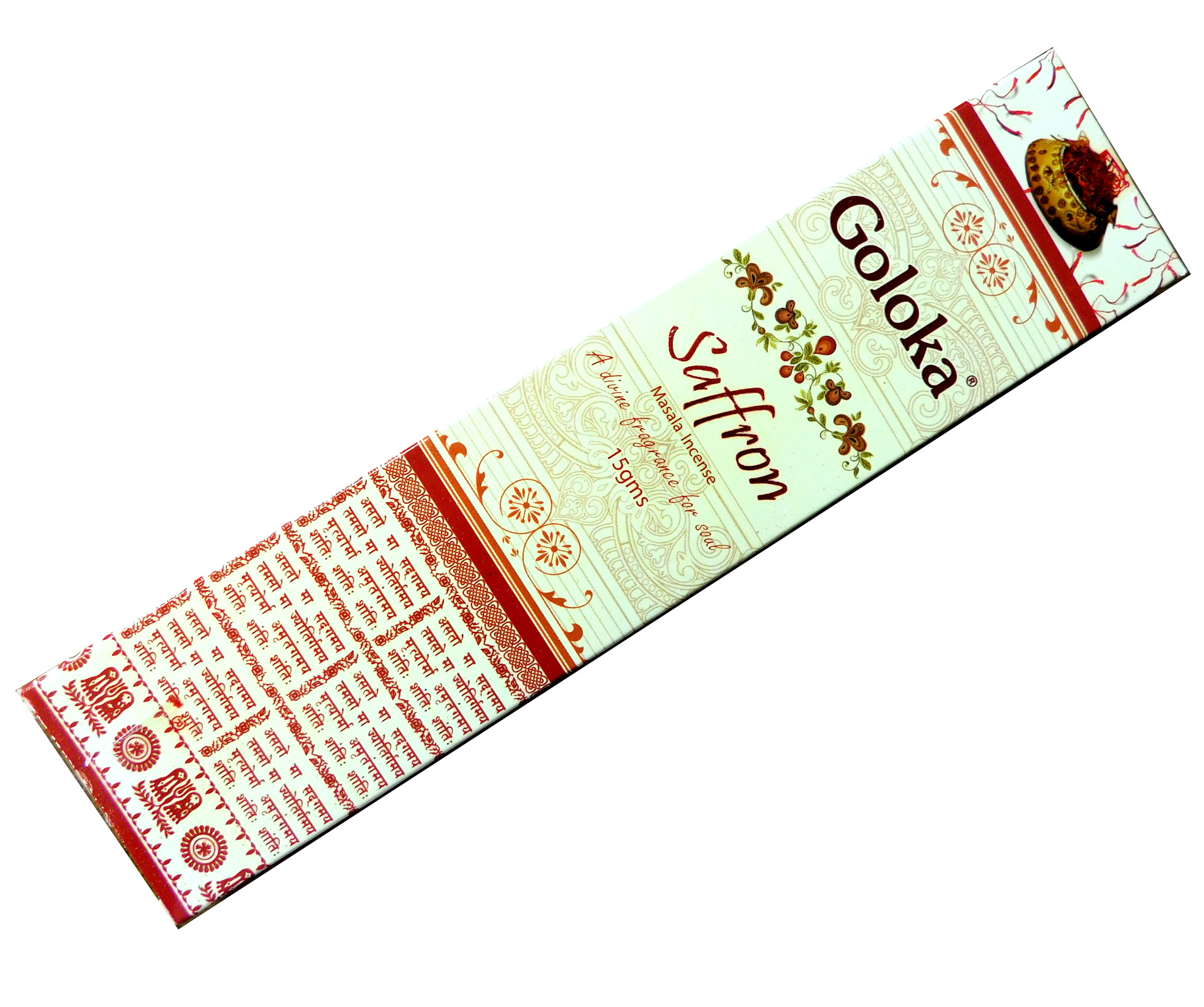 Räucherstäbchen Goloka Saffron
