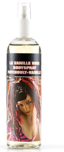 Bodyspray Patchouli-La Vanille Noir.