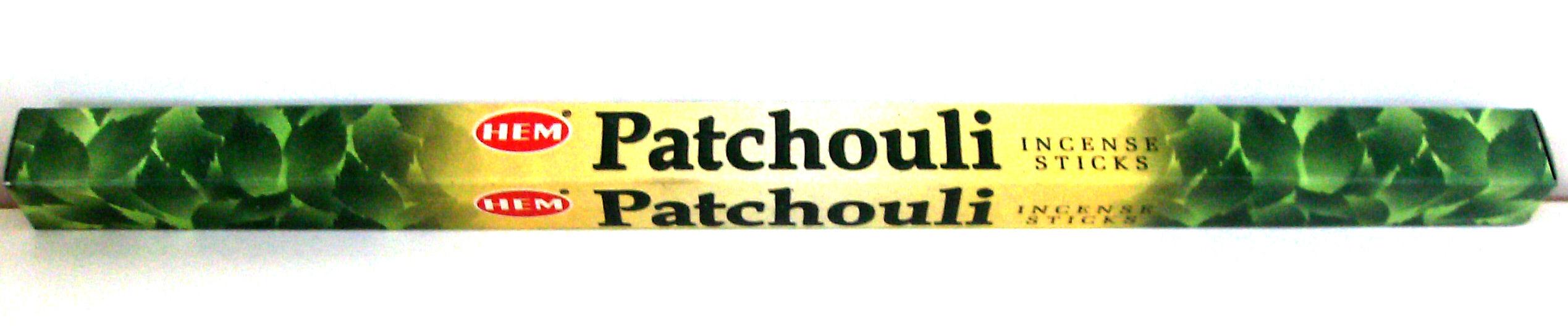 Räucherstäbchen Patchouli