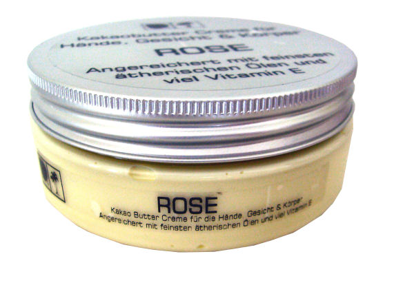 Kakao Butter Creme Rose