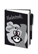 Skelanimals - Notizbuch A7 mit Stift
