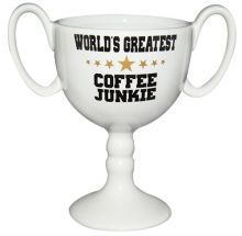 Pokaltasse World Greatest Coffee Junkie