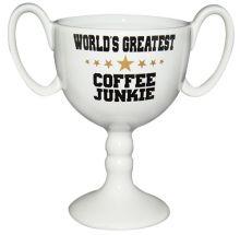 Pokaltasse World Greatest Coffee Junkie