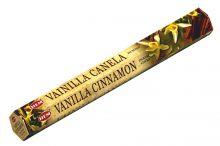HEM Räucherstäbchen Vanilla Cinnamon 20g Hexa Packung  Ca. 20 Incence Sticks