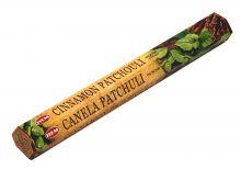 HEM Räucherstäbchen Cinnamon Patchouli 20g Hexa Packung  Ca. 20 Incence Sticks