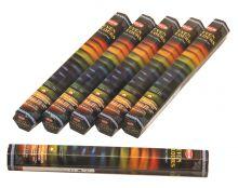 HEM Räucherstäbchen Sparset. 6 Packungen ca. 120 Sticks Seven Colours