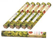 HEM Räucherstäbchen Sparset. 6 Packungen ca. 120 Sticks Precious Patchouli