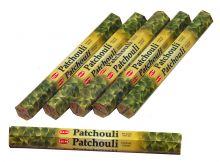 HEM Räucherstäbchen Sparset. 6 Packungen ca. 120 Sticks Patchouli