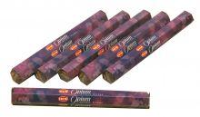 HEM Räucherstäbchen Sparset. 6 Packungen ca. 120 Sticks Opium