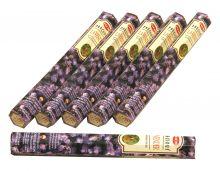 HEM Räucherstäbchen Sparset. 6 Packungen ca. 120 Sticks Lavendel