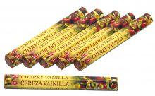 HEM Räucherstäbchen Sparset. 6 Packungen ca. 120 Sticks Cherry Vanilla