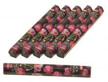 HEM Räucherstäbchen Sparset. 6 Packungen ca. 120 Sticks Black Opium