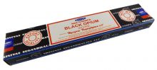 Räucherstäbchen Black Opium von Satya 15g Packung. Ca. 15 Incence Sticks