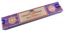 Räucherstäbchen French Lavender von Satya 15g Packung. Ca. 15 Incence Sticks