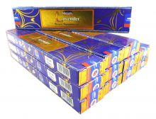 Satya Räucherstäbchen Natural Lavender Räucherwerk 12 Packs a 15g