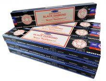 Satya Räucherstäbchen Black Diamond 12 Packs a 15g