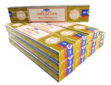 Satya Räucherstäbchen Tree of Life 12 Packs a 15g