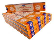 Satya Räucherstäbchen Eastern Tantra 12 Packs a 15g