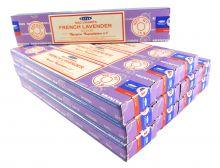 Satya Räucherstäbchen French Lavender 12 Packs a 15g
