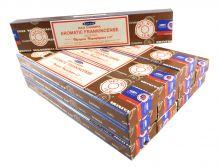 Satya Räucherstäbchen Aromatic Frankincense 12 Packs a 15g