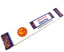 Räucherstäbchen Spiritual Mantra 15g Packung. Ca. 15 Incence Sticks