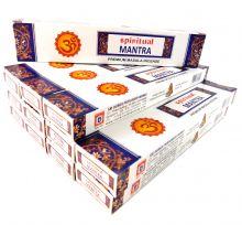 Räucherstäbchen Spiritual Mantra Big Pack 12 Packungen a 15g. Ca. 180 Incence Sticks