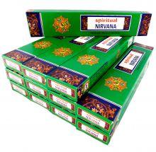 Räucherstäbchen Spiritual Nirvana Big Pack 12 Packungen a 15g. Ca. 180 Incence Sticks