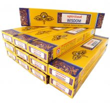 Räucherstäbchen Spiritual Wisdom Big Pack 12 Packungen a 15g. Ca. 180 Incence Sticks
