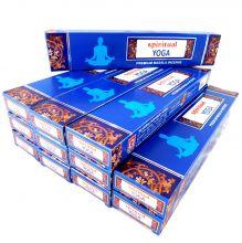Räucherstäbchen Spiritual Yoga Big Pack 12 Packungen a 15g. Ca. 180 Incence Sticks