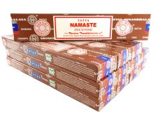 Satya Räucherstäbchen Namaste 12 Packs a 15g