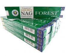 Vijayshree Räucherstäbchen Golden Nag Forest 12 Packs a 15g