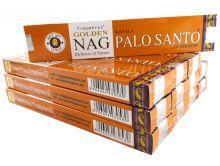 Vijayshree Räucherstäbchen Golden Nag Palo Santo 12 Packs a 15g