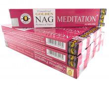 Vijayshree Räucherstäbchen Golden Nag Meditation 12 Packs a 15g