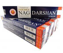 Vijayshree Räucherstäbchen Golden Nag Darshan 12 Packs a 15g