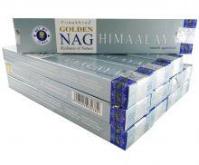 Vijayshree Räucherstäbchen Golden Nag Himalaaya 12 Packs a 15g