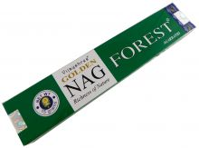 Räucherstäbchen Golden Nag Forest von Vijayshree 15g Packung. Ca. 15 Incence Sticks