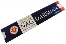 Räucherstäbchen Golden Nag Darshan von Vijayshree 15g Packung. Ca. 15 Incence Sticks