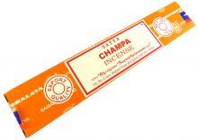 Räucherstäbchen Champa von Satya 15g Packung. Ca. 15 Incence Sticks