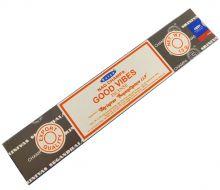 Räucherstäbchen Good Vipes von Satya 15g Packung. Ca. 15 Incence Sticks